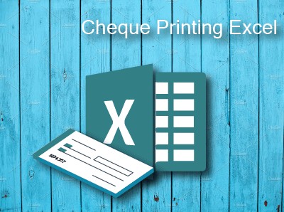 GST Billing Software Cheque Printing Excel